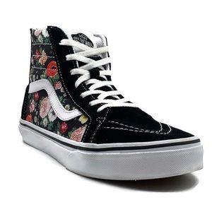Vans SK8-Hi Top Floral Sneakers